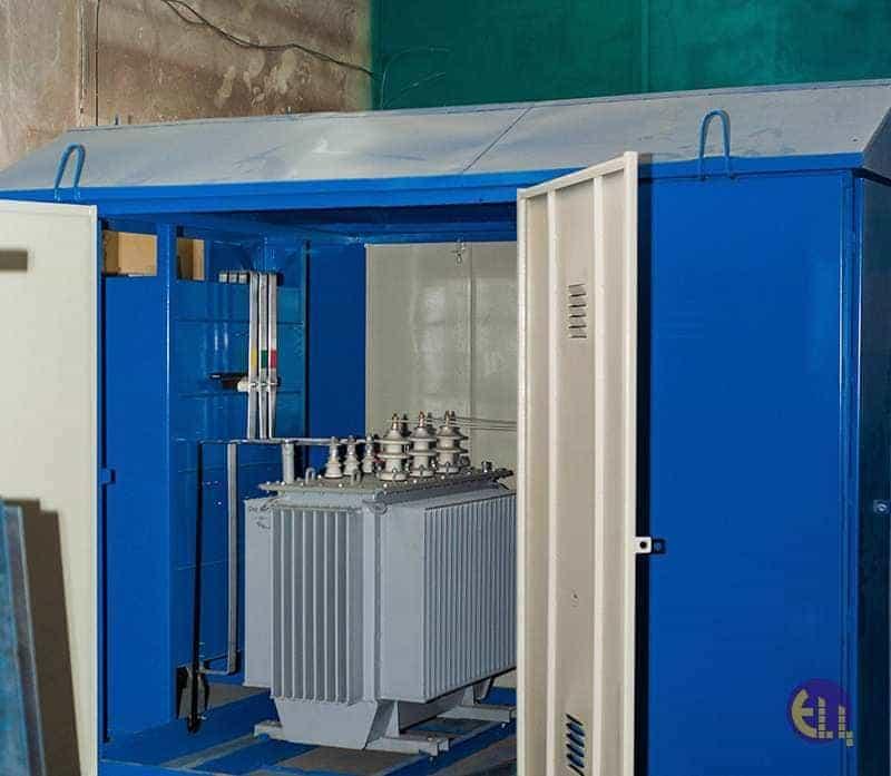 Трансформаторная подстанция КТПН 100 кВА фото 1