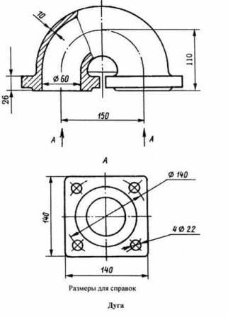 Отопительные радиаторы (схема №1)