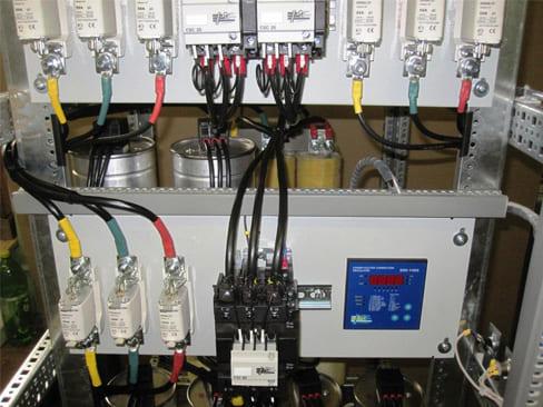 Работа конденсаторной установки 1